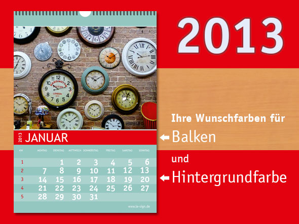 Fotokalender DIN A3